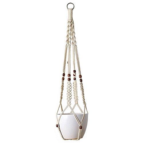 mkono-suspension-plante-macrame-decoration-porte-plantes-interieur-ou-exterieur-coton-4-jambes-90cm