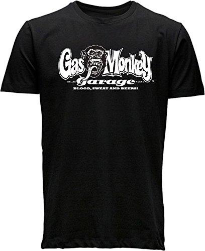 Gas Monkey Garage - T-SHIRT GAS MONKEY LOGO - M