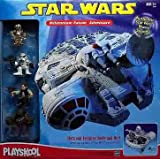 Star Wars Galactic Heroes Playskool Millennium Falcon Adventure Set
