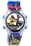 Transformers Flashing Lights LCD Watch