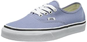 Vans Authentic Sneaker Faded Denim/True Wht 4 M US Men / 5.5 M US Women