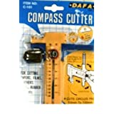 Dafa Compass Circle Paper Card Leather Vinyl Aperture Cutter Bladeby Model Craft
