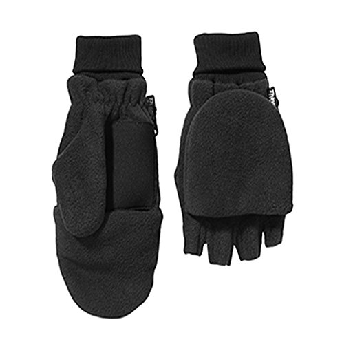 Broner Black FIngerless Glove/Mittens (Split Mittens compare prices)
