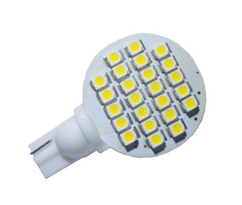 Grv T10 921 194 24-3528 Smd Led Bulb Lamp Super Bright Warm White Dc 12V Pack Of 2