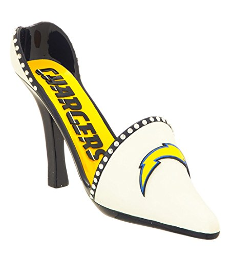 San Diego Chargers Wine Bottle Holder - High Heel NFL Shoe (Team Spirit Bottle Holder compare prices)