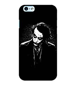ColourCraft Joker Design Back Case Cover for APPLE IPHONE 6