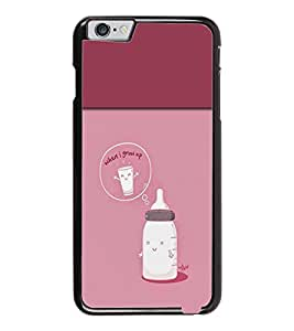 PrintDhaba Funny Image D-3716 Back Case Cover for APPLE IPHONE 6 (Multi-Coloured)