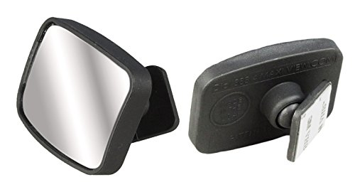 Over 1 MILLION sold! MaxiView, World's Best Blind Spot Mirrors! - As Seen On TV! - Made in America! - USA Patent - 360°, Fully Adjustable Ball and Swivel Lane Change Mirrors for All Vehicles! (As Seen On Tv Products Auto compare prices)