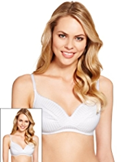 2 Pack Textured Non-Wired A-DD Bras