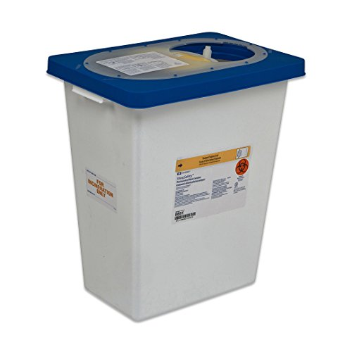 Covidien 8860 Sharpsafety Pharmaceutical Waste Container