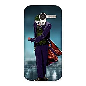Cute Walking Mad Back Case Cover for Moto X