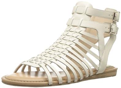 Vince Camuto Women's Kensil Huarache Sandal,Cloud Cream,6 M US