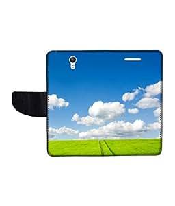 KolorEdge Printed Flip Cover For Lenovo S1 Multicolor - (1478-50KeMLogo09200LenovoS1)