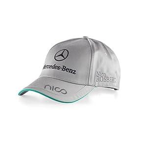 Rosberg cap von puma mercedes amg petronas driver kappe for Mercedes benz hat amazon
