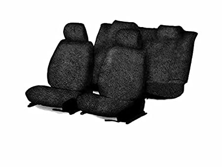 True Vision T6 Black Towel Seat Covers Maruti Baleno