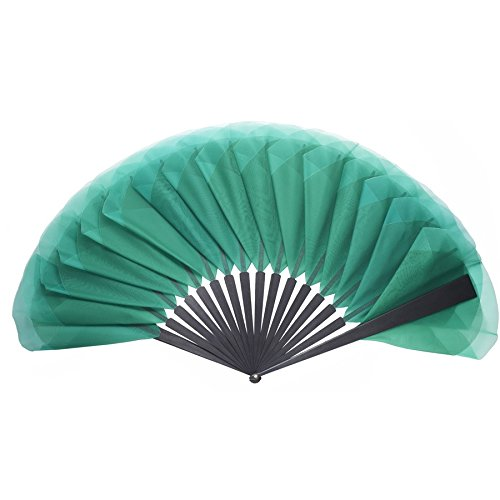 luxury-emerald-green-tulip-hand-fan-by-duvelleroy