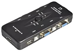 4 Port KVM Switch