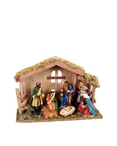 Decoracion Navideña Elemento Decorativo 9 Piezas Nacimiento