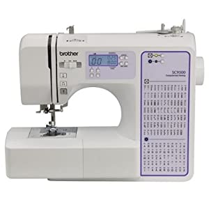 Brother Sc9500 Computeized Sewing Quilting Machine 90 Stitiches With Wide Table by Brother