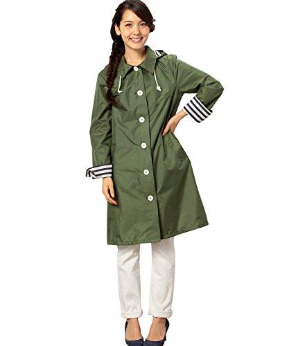 (ユナイテッドアローズグリーンレーベルリラクシング) UNITED ARROWS green label relaxing GC シングルBTNレインコート 36496990059 69 DK.Grn フリー