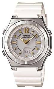 [カシオ]CASIO 腕時計 WAVECEPTOR ウェーブセプター レディース電波ソーラーウォッチ ホワイト MULTIBAND6 マルチバンド6  LWA-M142-7AJF レディース
