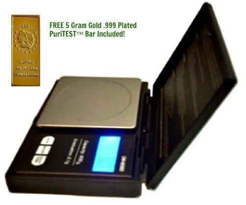 New Archer'S Digital Grain Scale-Weigh Archery Arrow Point Tip-Bowhunting, Crossbow, Longbow Broadheads + 5 Gram Gold Test Bar
