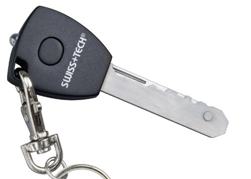 Swiss+Tech UKCSBK-MX Utili-Key MX 5-in-1 Keychain 