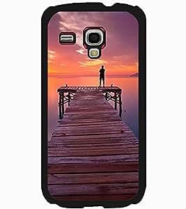 ColourCraft Beautiful Sunset Design Back Case Cover for SAMSUNG GALAXY S3 MINI I8190