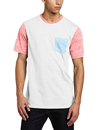 Volcom Men's Tempest Short Sleeve Crew, Pistol Punch, X-Large