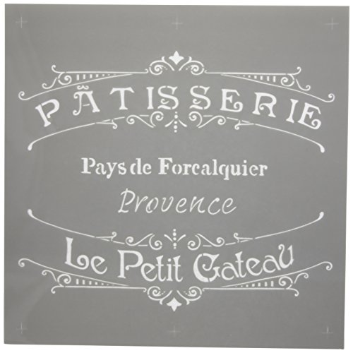 Deco Art Americana Decor Stencil, The French Bakery (Vintage French Decor compare prices)