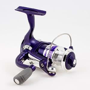 Folding handgrip gear ratio 5 1 1 angling for Purple fishing reel