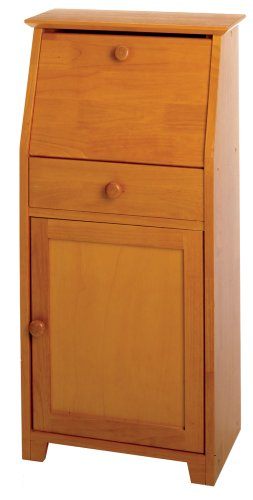 Winsome Wood Secretary Desk, Honey