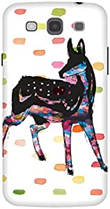 The Racoon Lean Oh Deer hard plastic printed back case / cover for Samsung Galaxy Mega 5.8