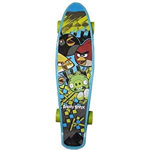 Click here to buy Angry Birds 22-Inch Mini Cruiser Skateboard by Street Flyers.