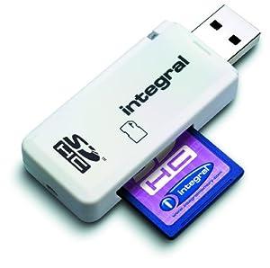 Integral USB 2.0 Single Slot SD Reader