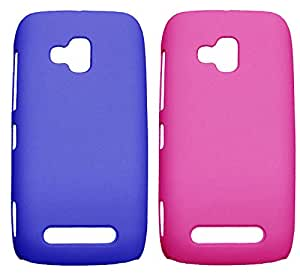 Winsome Deal Hard Back Cover Case for Nokia Lumia 610 (Pack Of 2)
