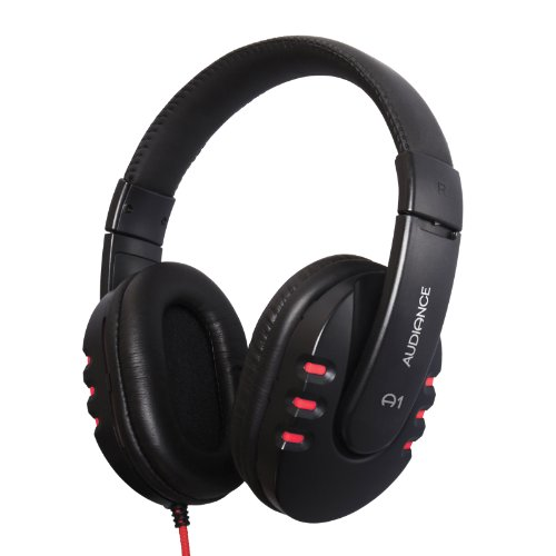 Audiance A1 Over Ear Stereo Headphones For The Oneplus One - Red