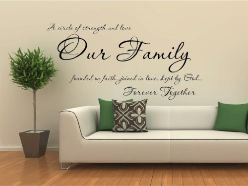 Wall Stickers Quotes Family Family Quotes Wall Decals Quotesgram