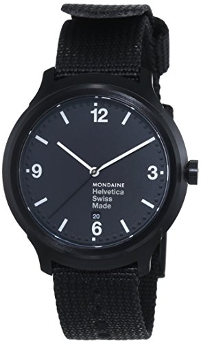 Mondaine Helvetica Bold MH1B1221NB Reloj Pulsera para Hombres