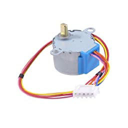 uxcell® 28BYJ-48-5V 4 Phase 5 Wire DC 5V Gear Step Stepper Motor