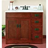 36X21 MISSION OAK VANITY (Sunnywood Prod. FR3621D)