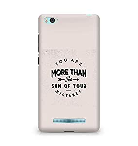 AMEZ you are more than the sum of your mistakes Back Cover For Xiaomi Mi4i