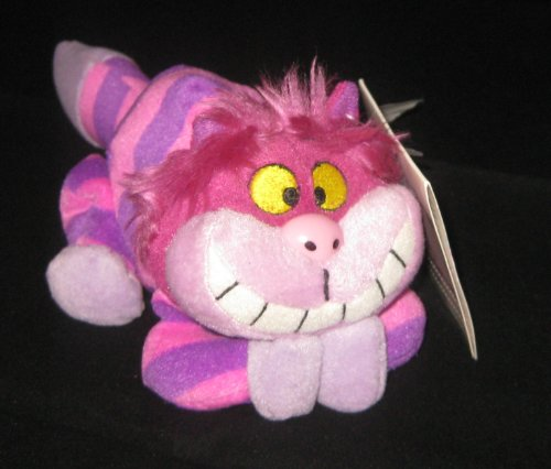 Disney Cheshire Cat Bean Bag Plush Toy Alice In Wonderland - 1