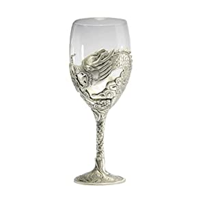 Dragon large goblet pewter other products goblets chalices - Pewter dragon goblet ...