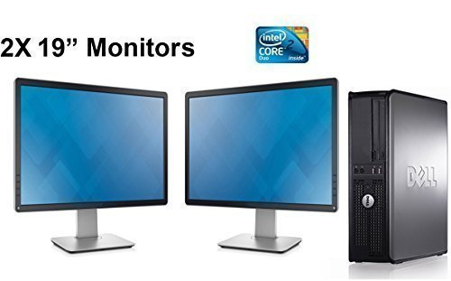 Dell Dual Monitor Computer Bundle 19