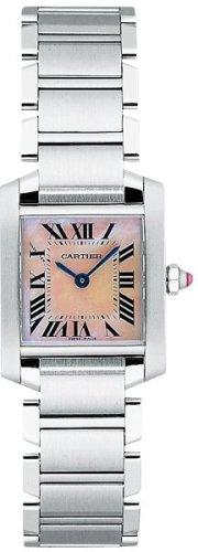 CARTIER FRANCAISE LADIES STEEL WATCH W51028Q3 Wrist Watch (Wristwatch)