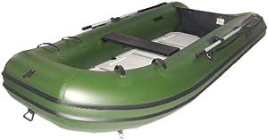 Mercury 340 Sport PVC Inflatable Boat, Green, 11-Feet 2-Inch (2010 Model) by Mercury