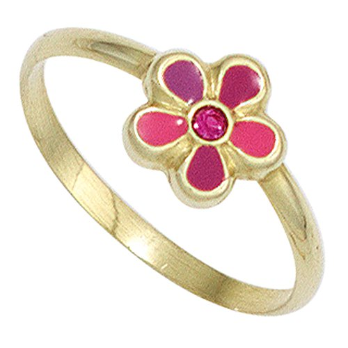 Kinder Kinder Gold Ring Blume