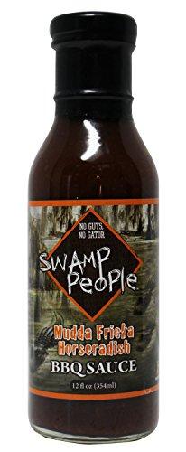 Swamp People Mudda Fricka Horseradish BBQ Sauce No Guts No Gator (Mudda Fricka Horseradish BBQ Sauce, 12 oz) (Georgia Peach Salsa compare prices)