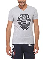 Rivaldi Camiseta Manga Corta Morari (Gris)